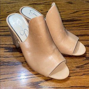Jessica Simpson heeled sandals, 8.5